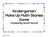 Kindergarten Make Up Math Stories Problem Solving Game