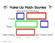 Kindergarten Make Up Math Stories Problem Solving Game