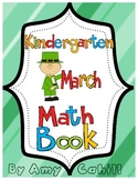 Kindergarten March Math Book - Common Core