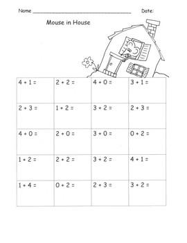Kindergarten March Math Worksheets 23 pages