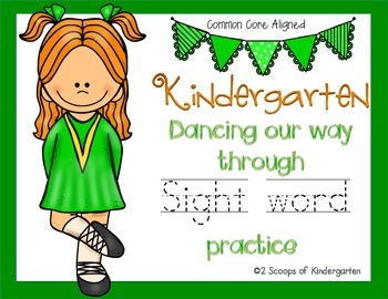 Kindergarten March Sight Word Practice Literacy Centers