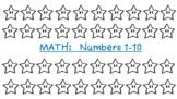 Kindergarten: Math Practice