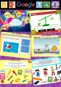 Kindergarten Mass Smart Notebook and Unit of Work Bundle 1