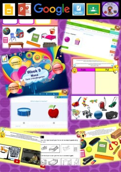 Kindergarten Mass Smart Notebook and Unit of Work Bundle 2