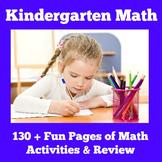 Math Worksheets | Preschool Kindergarten | Math Review Kin