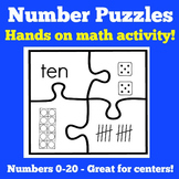 Math Center Kindergarten | Number Sense Games | Number Sen