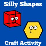 Shapes Craft | Preschool Kindergarten | Shape Recognition