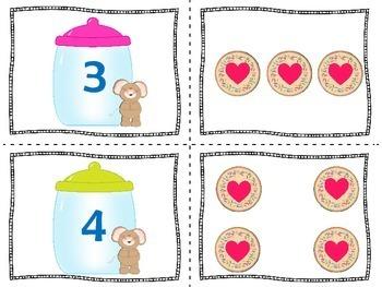 Preschool Math Center | Preschool Math Activity
