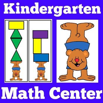 Kindergarten Math Centers   Math Centers Kindergarten