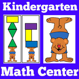 Kindergarten Math Centers | Shapes