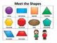 Kindergarten Math: 2-D Shapes