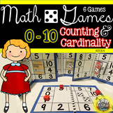 Counting and Cardinality Games:  Kindergarten Math Centers