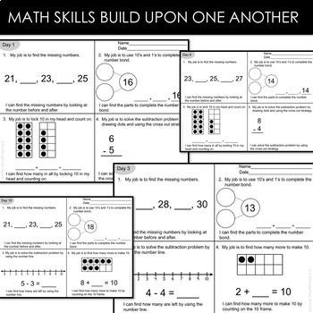 Kindergarten Math Review (End of Year)