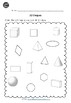 3D (Solid) Shapes Worksheets for Kindergarten