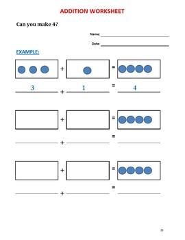 Kindergarten Math (41 Worksheets)