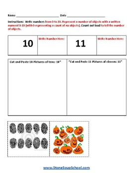 Kindergarten Math: AL Common Core Standards Geometry  Base 10 Measure Counting