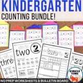 Kindergarten Math Activities: Counting & Numbers Worksheet
