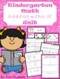 Kindergarten Math ~ Addition to 10