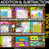 Kindergarten Math: Addition and Subtraction to 10 Bundle