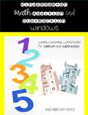 Kindergarten Math Addition and Subtraction Windows