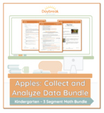 Emergency Sub Plans: Kindergarten: Math: Apples (Collect a