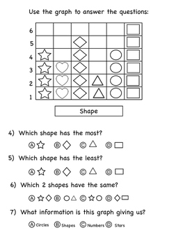 Kindergarten Math Assessment 1 - great for MOY or EOY warm up