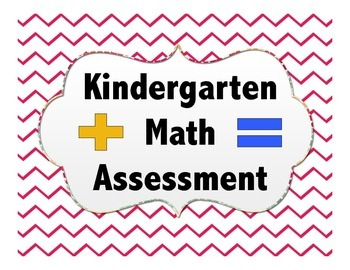 Kindergarten Math Assessment