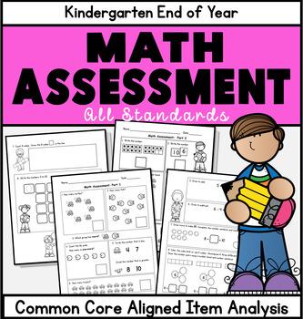 Kindergarten Math Assessment: EngageNY: End of K or Beginn