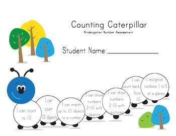 Kindergarten Math Assessment - Numbers