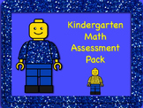 Kindergarten Math Assessment Pack - Back to School and Use