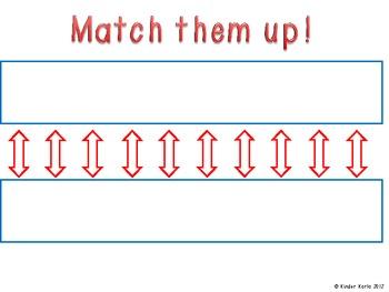 Kindergarten Math Assessments: CC6 Greater Than, Less Than, Equal Sets