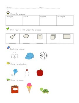 Kindergarten CCSS Math Assessments Through the Year