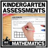 Kindergarten Math Assessments for the Year