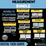 Kindergarten Math BOOM CARDS - Non-Standard Measurement BU