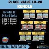 Kindergarten Math BOOM CARDS - Place Value BUNDLE