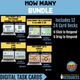 Kindergarten Math BOOM Cards™ - How Many BUNDLE (Click or