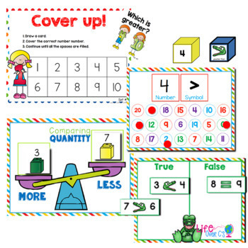 Kindergarten Math Growing BUNDLE | Year Long Differentiated Math