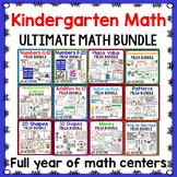 Kindergarten Math Growing BUNDLE   Year Long Differentiated Math