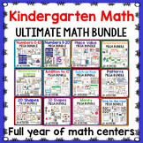Kindergarten Math BUNDLE | Year Long Differentiated Math