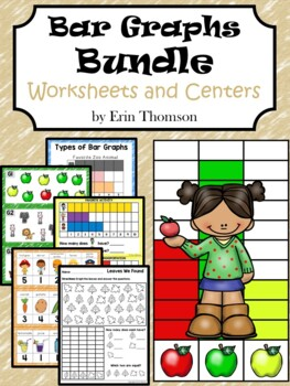 Kindergarten Math ~ Bar Graphs {Worksheets and Centers}