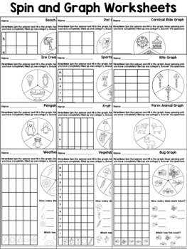 All About Bar Graphs ~ Worksheets and Centers