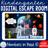 Kindergarten Math Base 10 Digital Escape Room Game l Dista