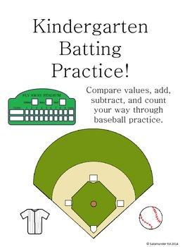 Kindergarten Math Batting Practice!