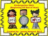 Kindergarten Math (Beginning till End of Year)
