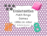 Kindergarten Math Bingo Math Centers!