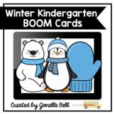Kindergarten Winter Boom Cards Bundle