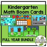 Kindergarten Math Curriculum - Boom Cards - Full Year BUNDLE