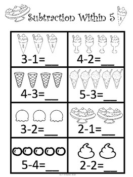 Kindergarten Math Bundle