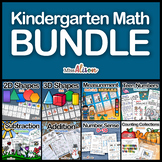 Kindergarten Math Bundle (works with distance learning)