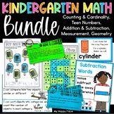 Common Core Kindergarten Math Bundle